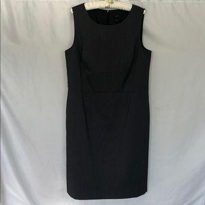 Ann Taylor WhiteBlack Polka Dot Shift Dress 16 NWT
